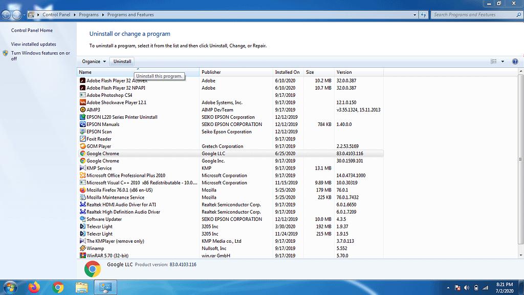 mengatasi windows 7 lemot