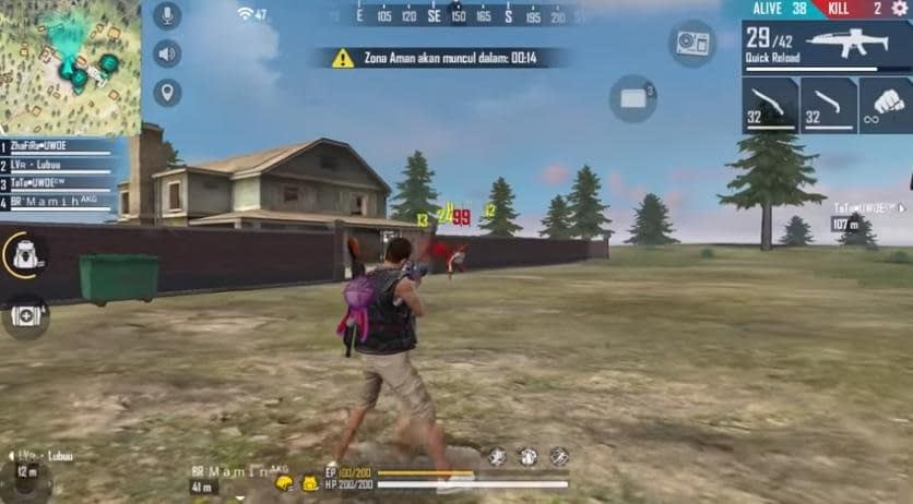 5 tips Free Fire