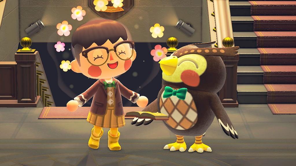 Bisa nambah ilmu dengan maen Game Animal Crossing