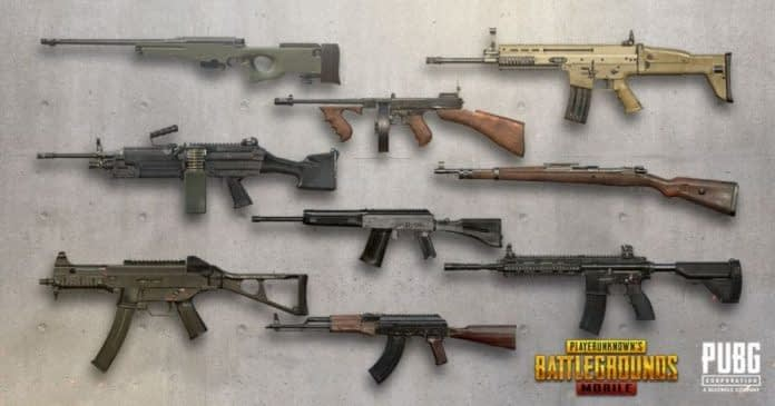 Rifle PUBG Mobile
