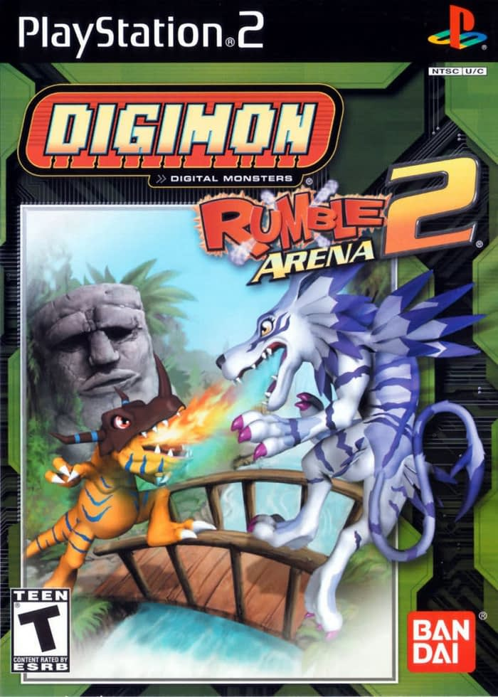 Review Digimon Rumble Arena 2 PS2