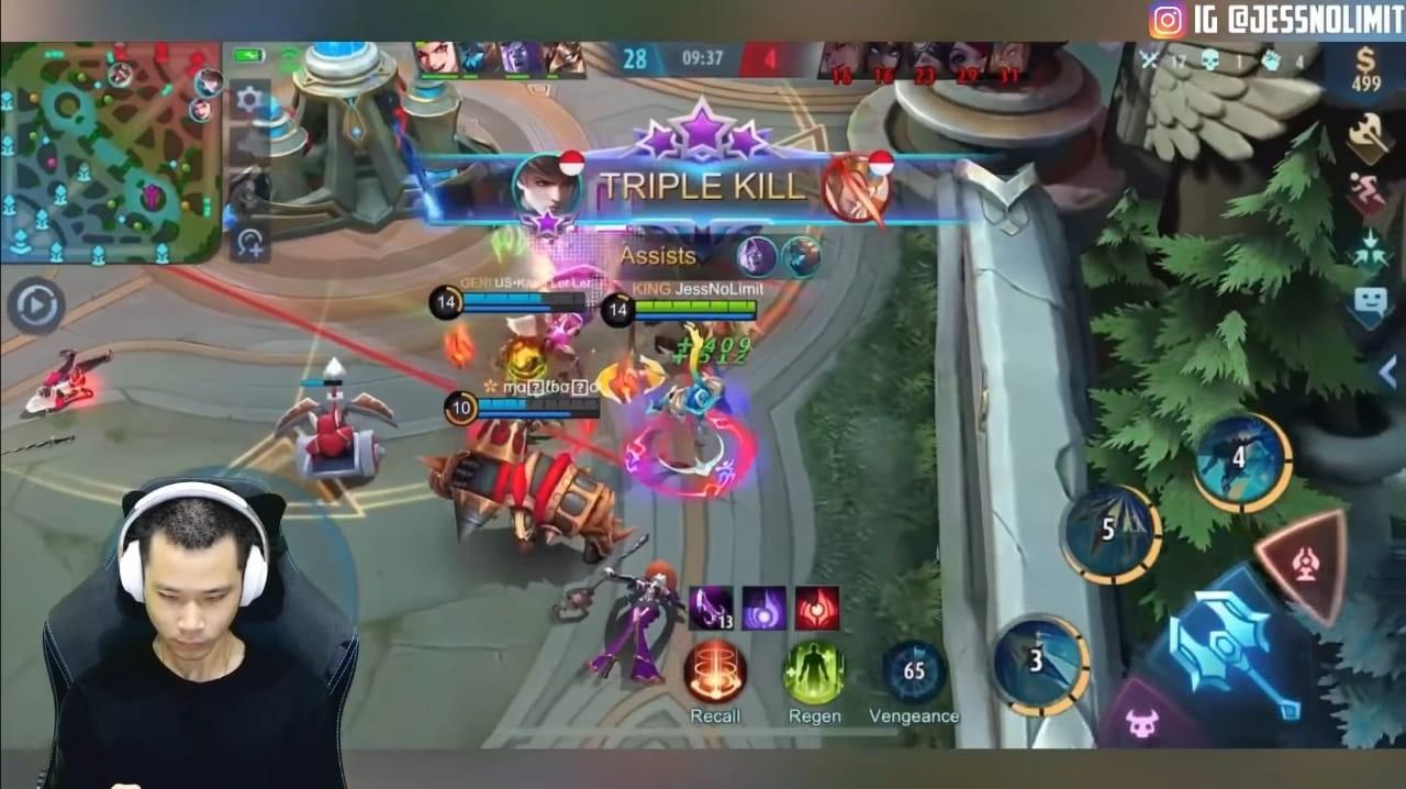 Build Gusion Mobile Legends