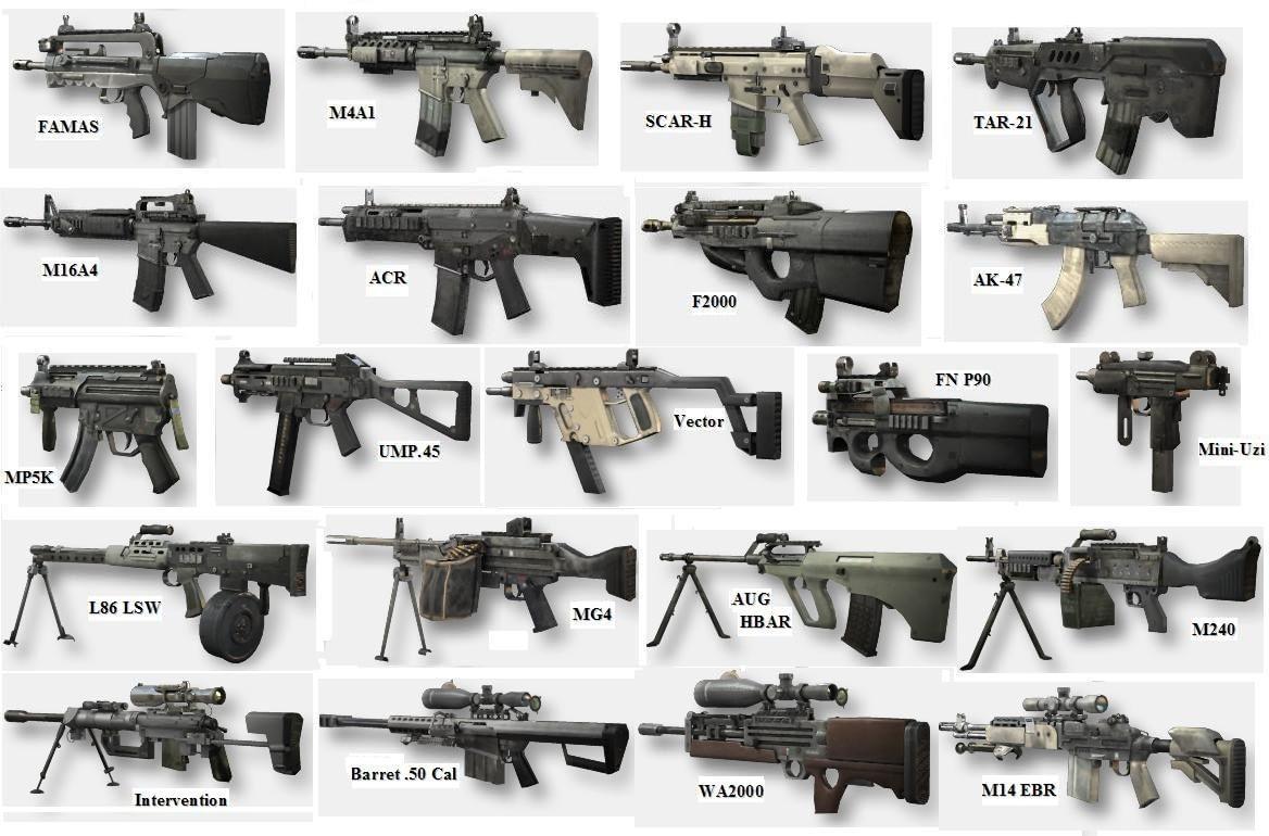 Senjata Counter Strike