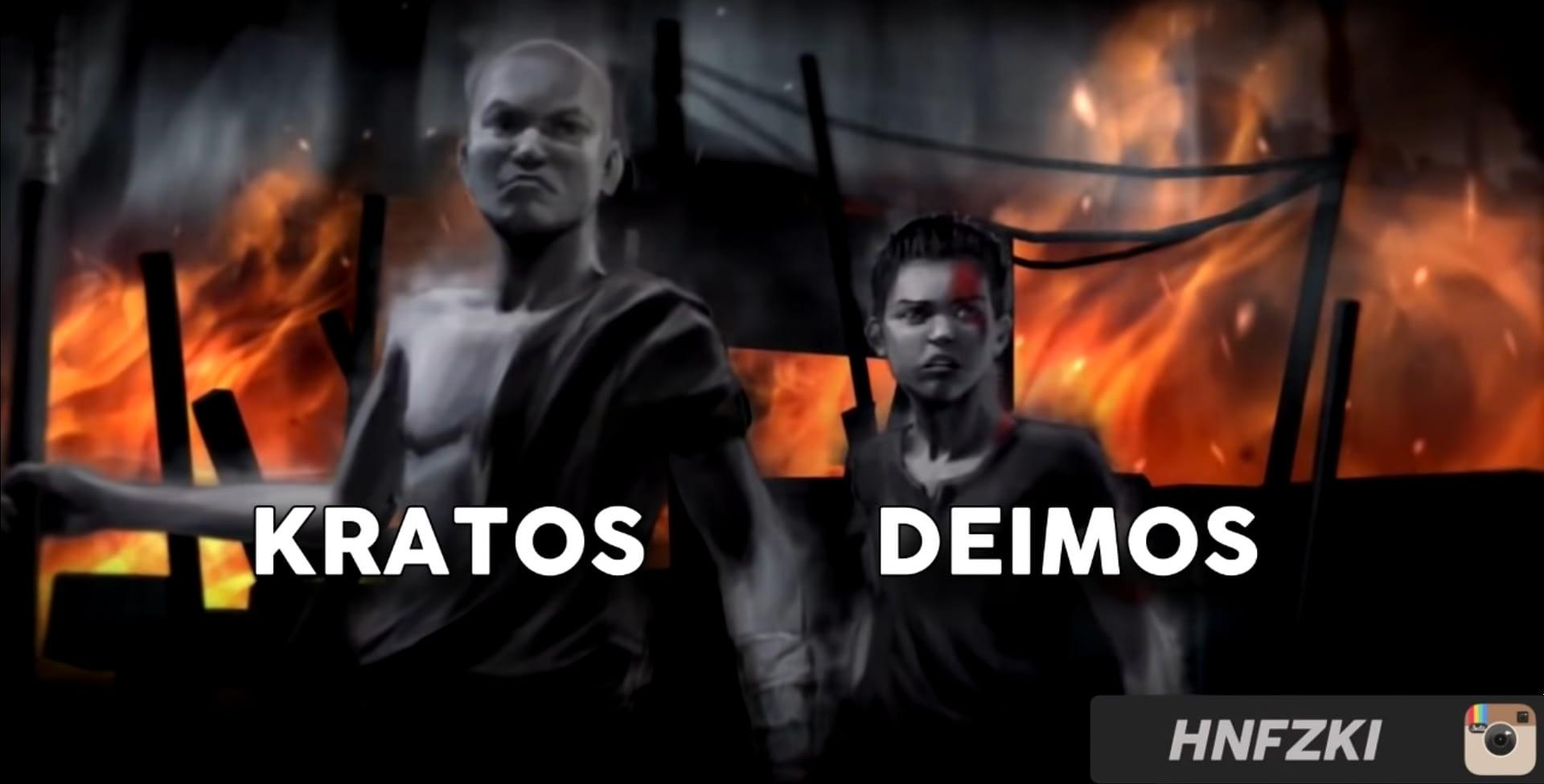 Kratos dan Deimos