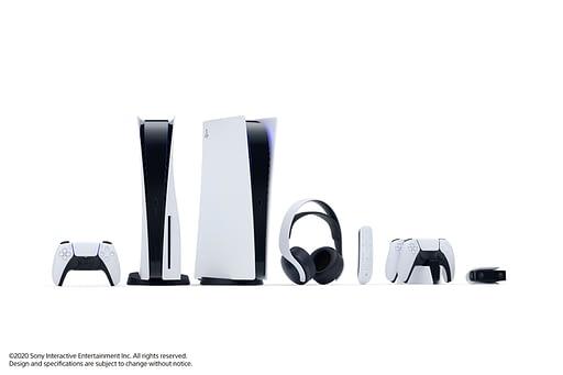 Spesifikasi PS 5 dengan Desain Futuristik