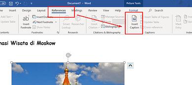 Cara Menyisipkan Caption Gambar Di Miscrosoft Word
