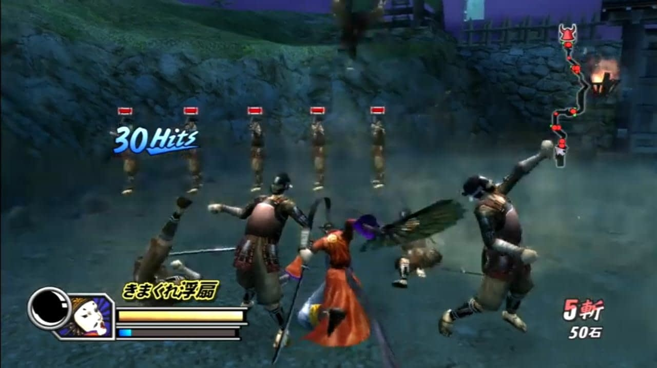 Review Sengoku Basara Heroes 2 dan Heronya! : Yoshimoto Imagawa Conquest Mode