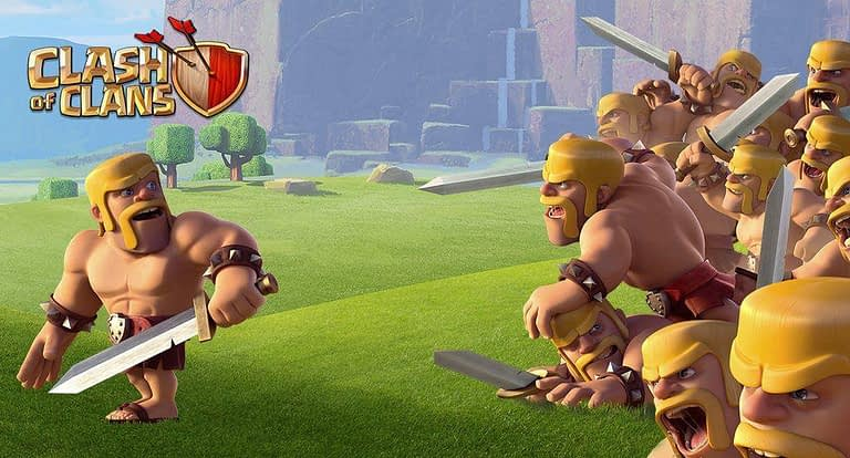 nama-nama pasukan clash of clans