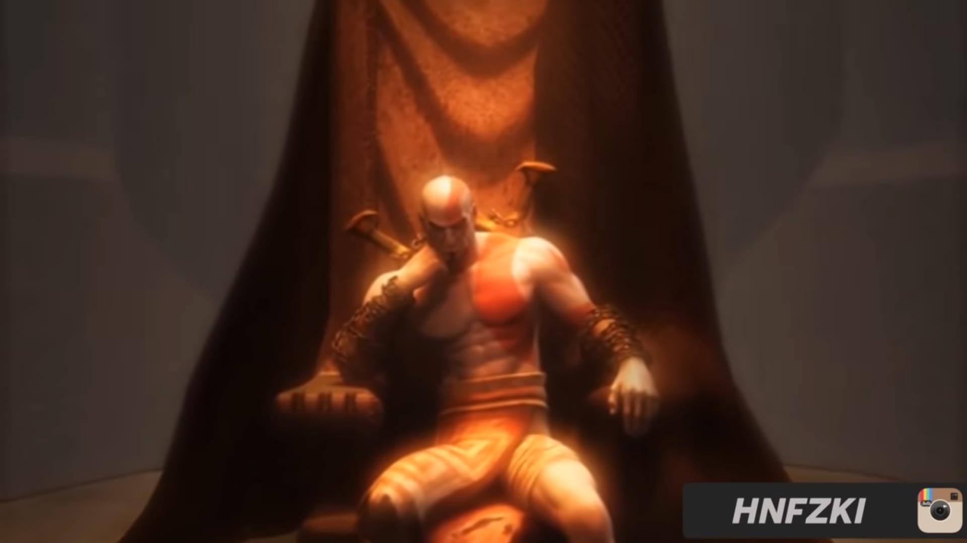 Kratos sang Dewa Perang