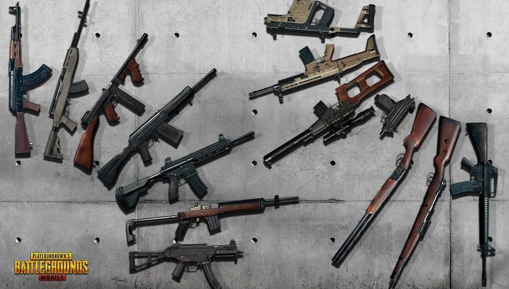 Sniper PUBG Mobile