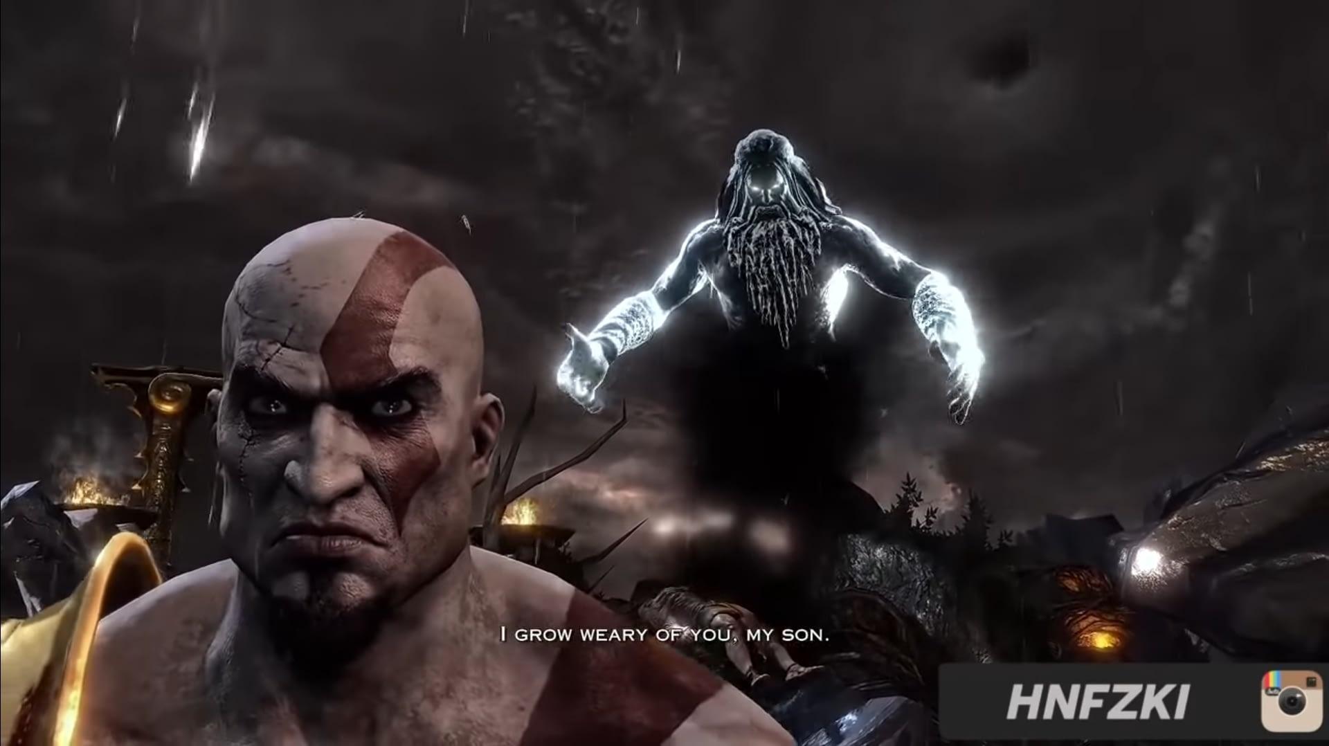 Alur Cerita God of War Mitologi Yunani : Arwah Zeus