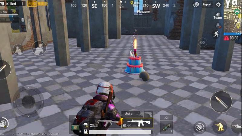 Kue ulang tahun PUBG