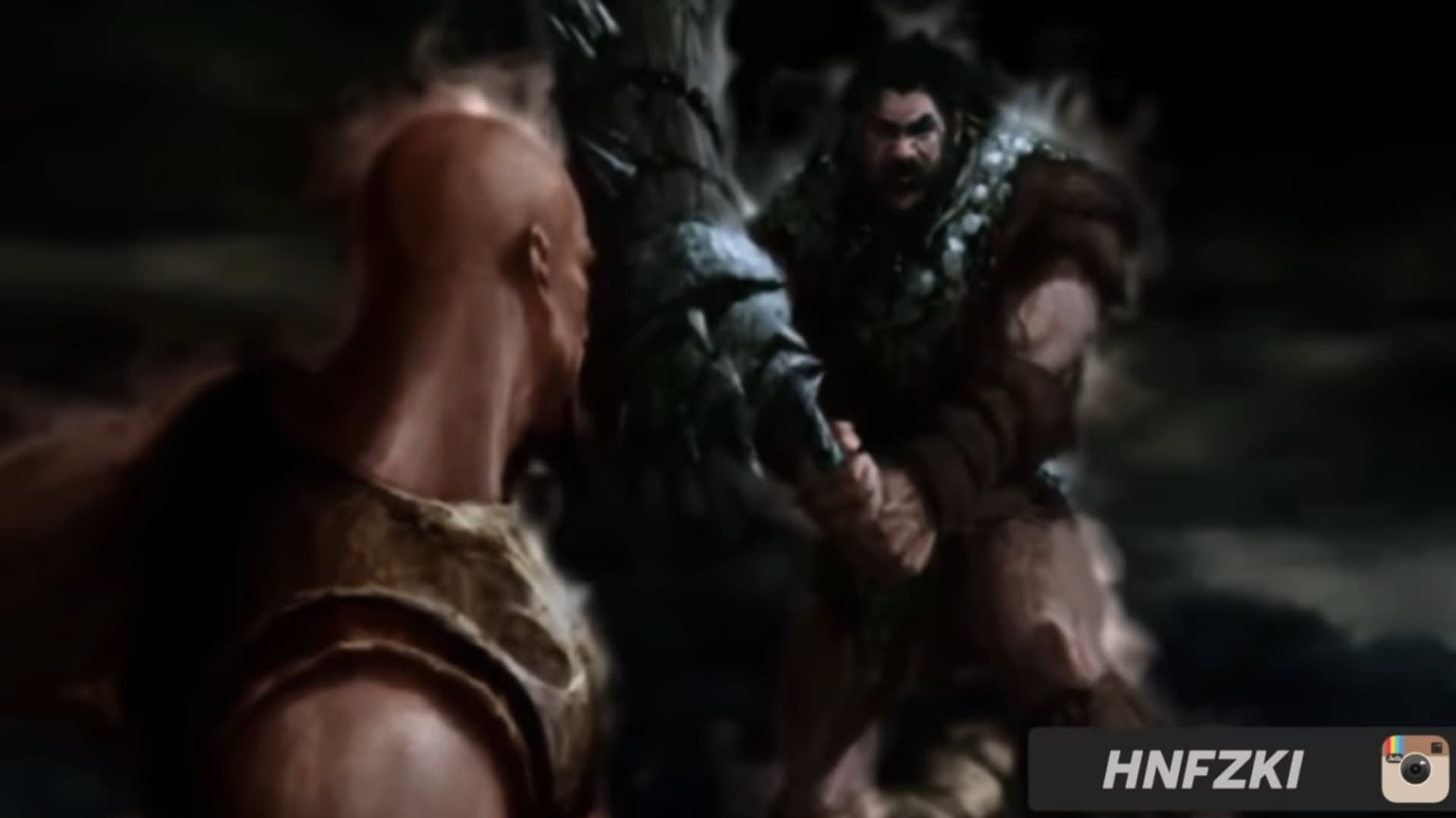 Kratos vs Alrik