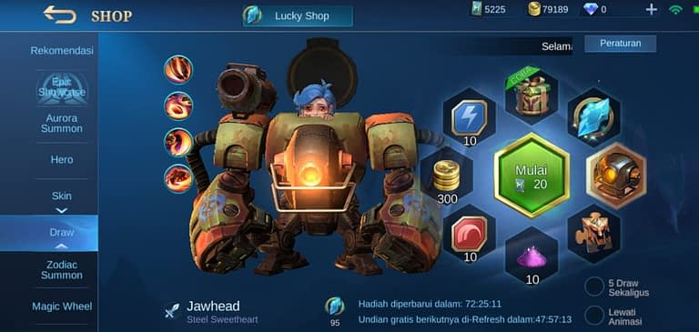 Trik Lucky Spin Mobile Legends
