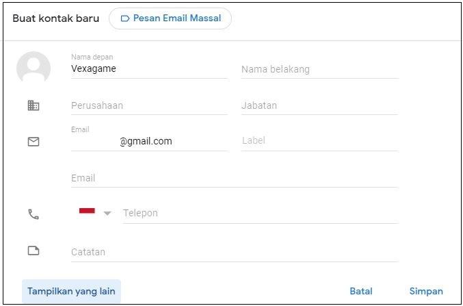 cara mudah kirim email masal