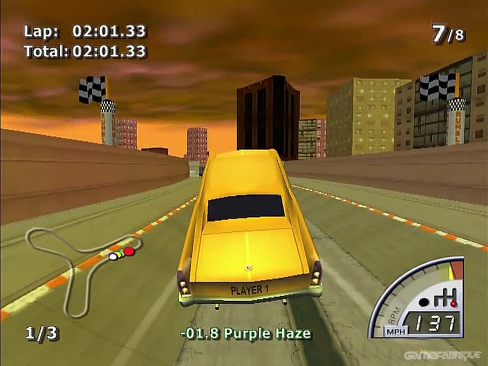 Review Game Rumble Racing PS2